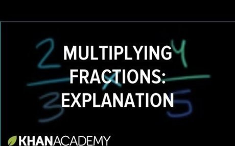 Intro to multiplying 2 fractions