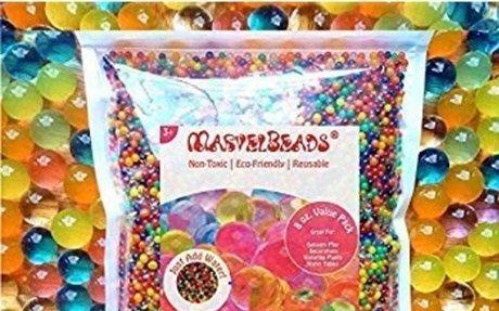 Amazon.com: MarvelBeads Water Beads Rainbow Mix, 8 oz (20,000 beads) for Orbeez Spa Refill