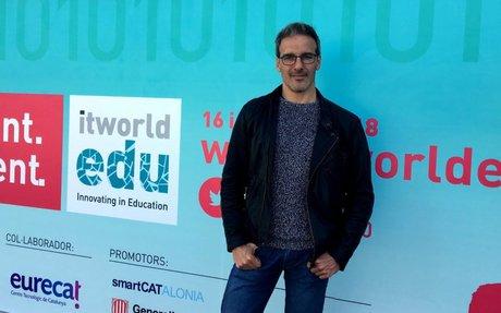 """David Calle """"La innovació també és entrar amb ganes i passió a classe"""""""