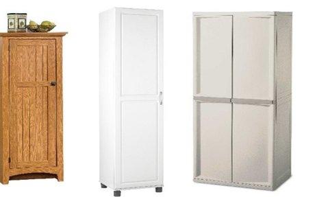 Best Portable Free Standing Broom Closet Cabinet