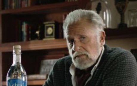 Astral Tequila campaign stars Jonathan Goldsmith