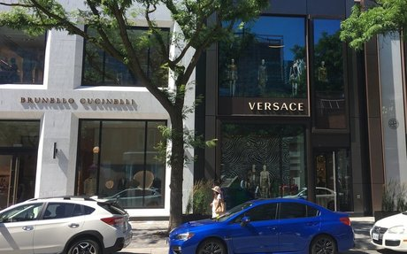 Versace Opens Impressive Canadian Flagship on Yorkville Avenue [Photos]