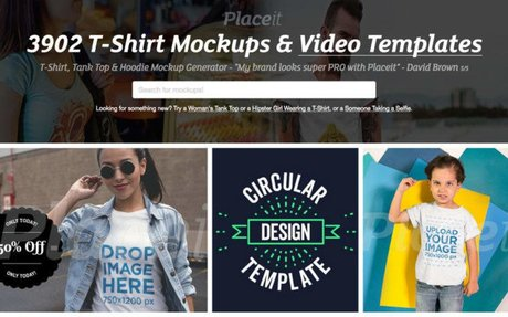 Placeit generates mockup on many devices including How to Quickly Start a T-Shirt Store...