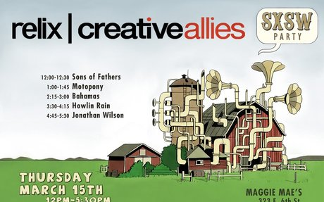Relix/Creative Allies SXSW Party Takes Place Today