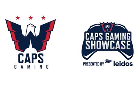 NHL's Washington Capitals Establishes Caps Gaming Brand