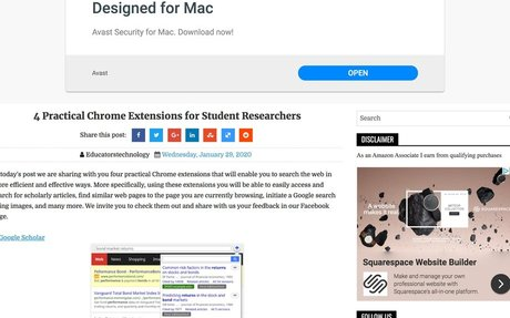 4 Practical Chrome Extensions for Student Researchers