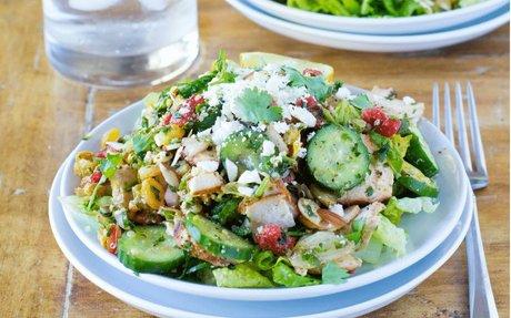 Shawarma Mediterranean Salad