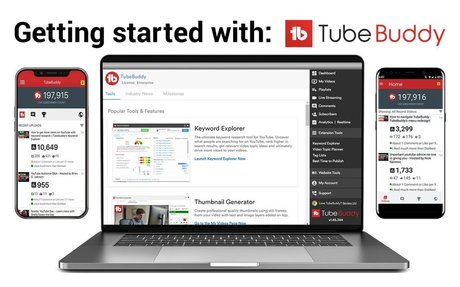 TUBEBUDDY is powerful browser plugin that will save you time and money, boost video per...