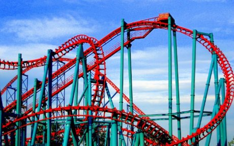 Overcoming Fear- Roller Coasters