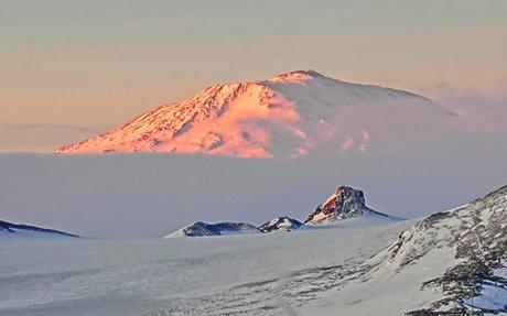 Giant volcanoes lurk beneath Antarctic ice