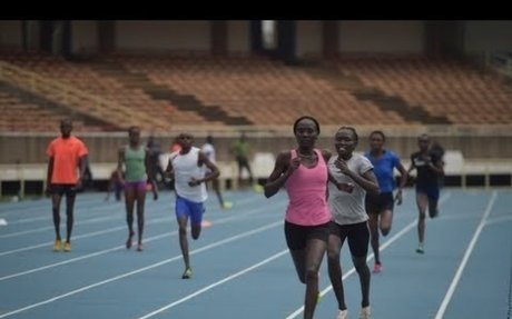 Refugees althletes train for 2017 World Athletics Championships in London
