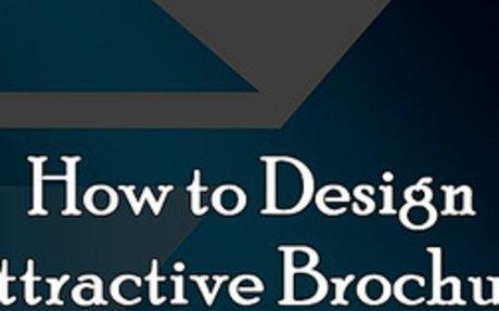 How to Design Attractive Brochures?