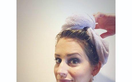 Amazon.com : Turbie Twist Microfiber Hair Towel 2 Pack(White) : Beauty