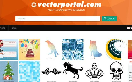 Over 35 million vector downloads