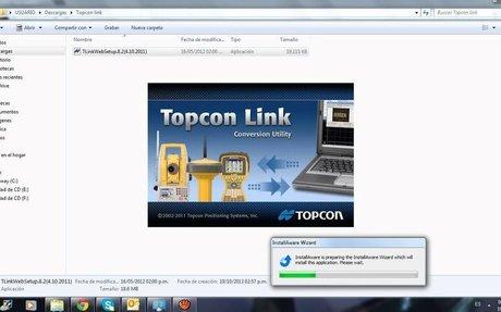 Topcon link 7.5