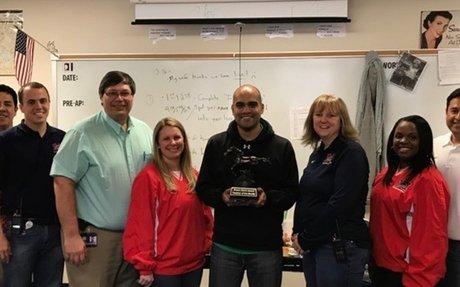 Please congratulate Mr. Alvaro Cantu  as Teacher Of The Month