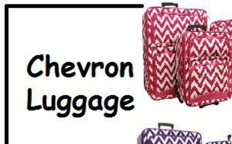 Best Chevron Luggage | Chevron Luggage Sets, Rolling Luggage and Carry On Powered by Rebel