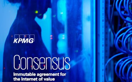 2016-07 KMPG Study: Consensu- immutable agreement for the Internet of value