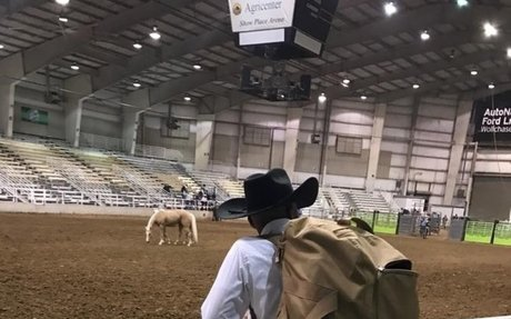 Rodeo: Taeon Saunders Chasing 8 Seconds