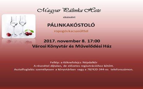 Pálinkakóstoló a Magyar Pálinka Hete alkalmából   VIRA Magazin