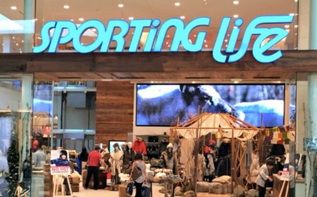 Sporting Life Announces 1st Store Location in British Columbia