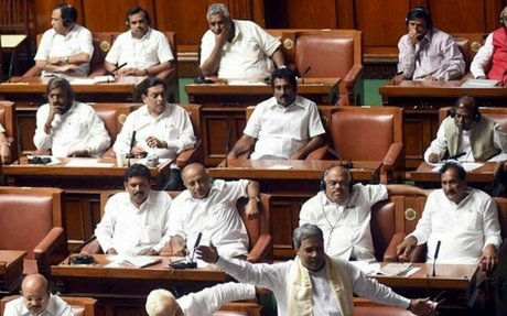 Congress faces setback in Karnataka Council