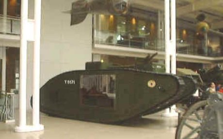 4. Tanks and World War One