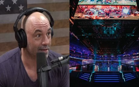 Joe Rogan shocked after learning how esports attendance compares to UFC | Dexerto.com