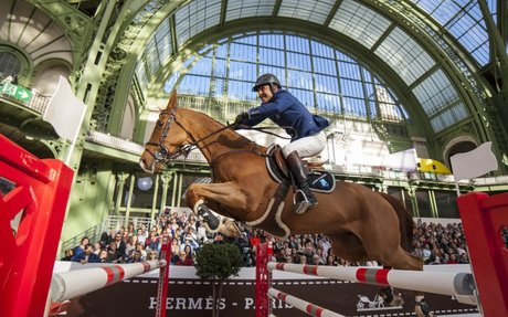 Showjumping: Prix Hermès Sellier to Philippe Rozier at the Grand Palais