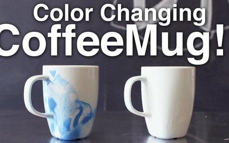 DIY Color Changing Coffee Mug!!