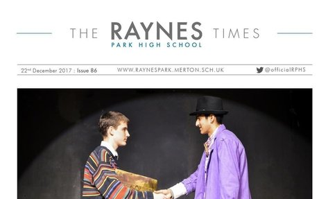 Raynes Park High School Times Issue 86