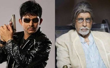 Amitabh Bachchan brings 'deluded' KRK back to reality