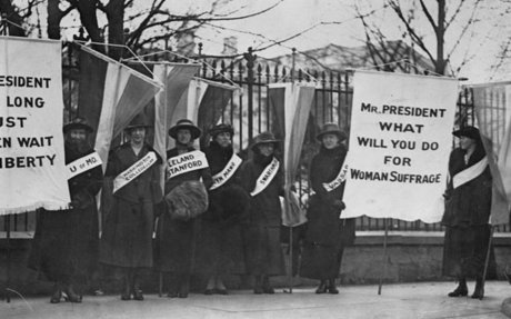 The Woman Suffrage Movement