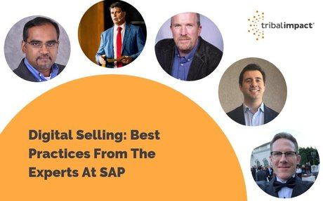 Digital Selling: Best Practices From The Experts At SAP #DigitalSelling