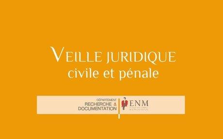 Veilles juridiques de l'ENM : à découvrir en libre accès
