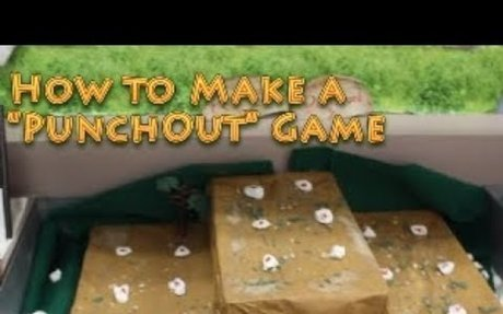 "Garbage to Gold - How To Make Your Own ""PunchOut"" Game of Chance"