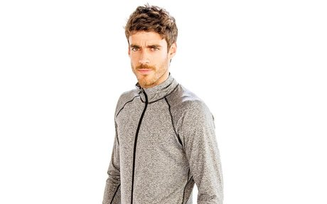 Buy Online Plain Grey Running Jackets for Men
