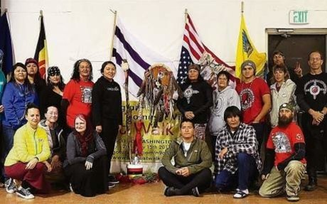 """""""The Longest Walk"""" American Indian Movement makes a stop in Nevada"""