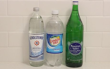 The Difference Between Club Soda, Seltzer and Sparkling Mineral Water