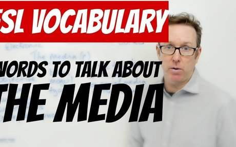 English lesson - Words to talk about THE MEDIA - palabras en inglés
