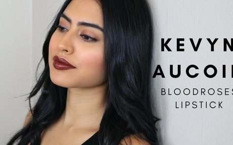 KEVYN AUCOIN LIPSTICK: BLOODROSES REVIEW