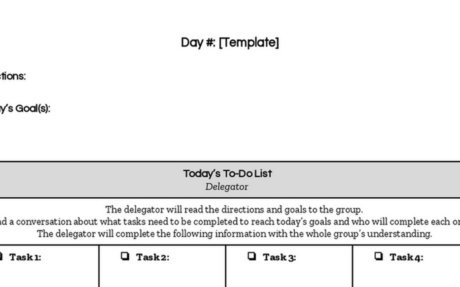 PBL Daily Documentation Template