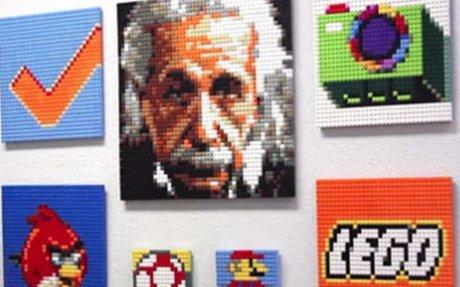 BUILD A LEGO Mosaic