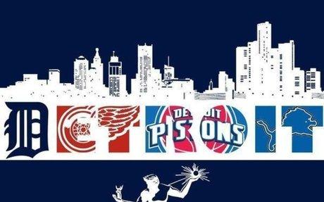 Detroit sports teams