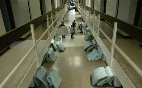 Prison crowding undermines safety, report says (Quote)