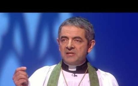 Rowan Atkinson in 'We are most amused'