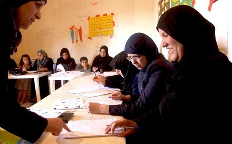 Literacy classes open new doors for Syrian women in Lebanon