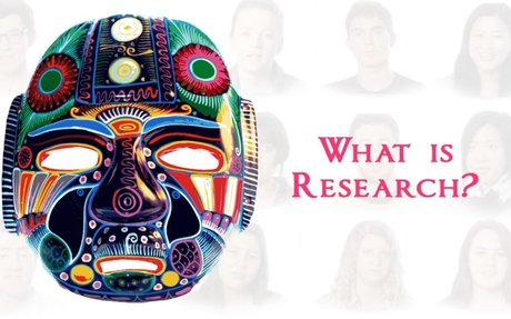 What is Research - Student's say it's surprisingly creative.