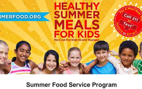 2018 Healthy Summer Meals for Kids