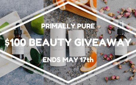 $100 Primally Pure Skin Care Gift Certificate Giveaway